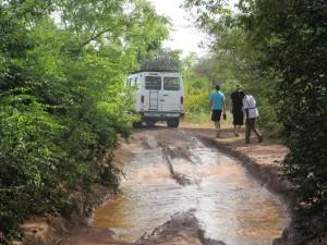 L'association lors d'un voyage au Burkina