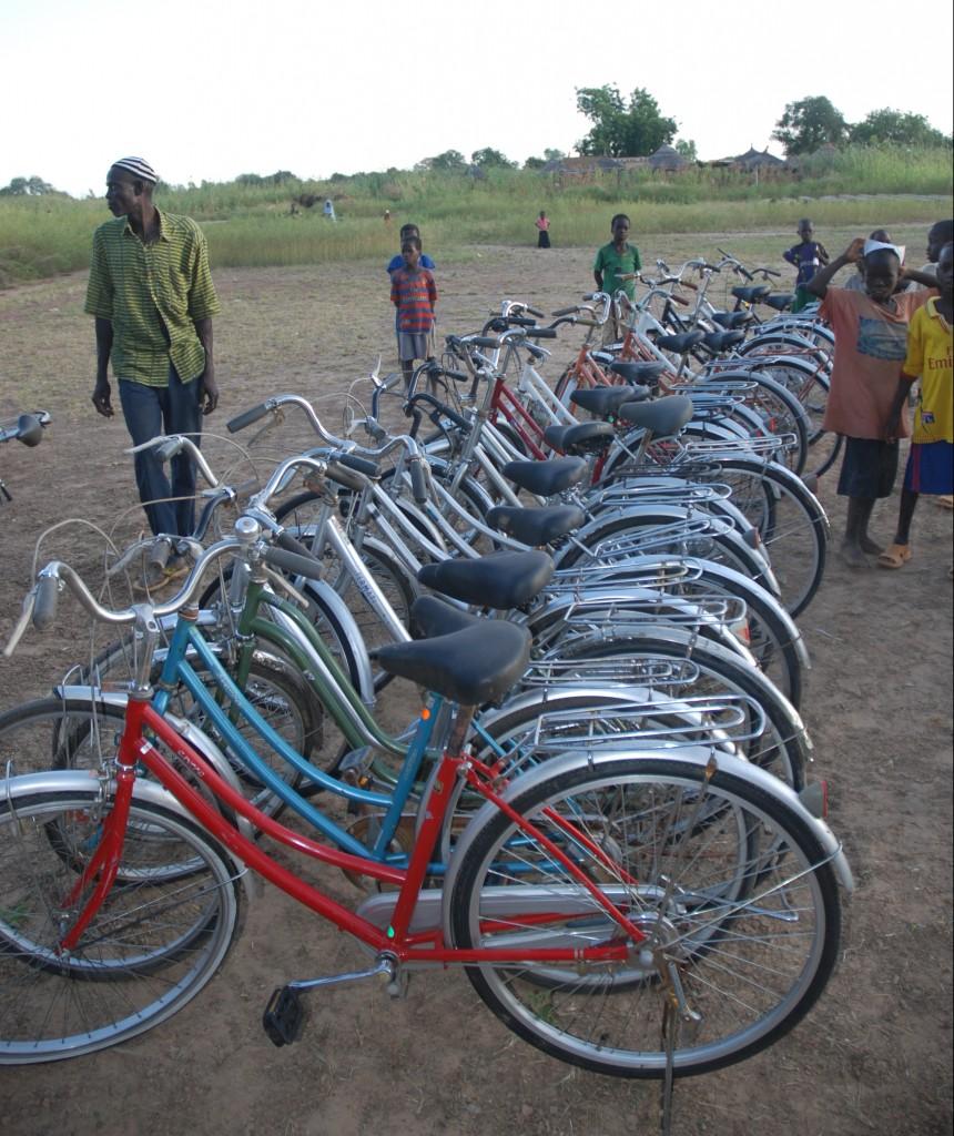 Vélos pour les enfants Burkina